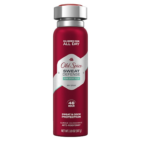 Old Spice Invisible Spray Antiperspirant & Deodorant Pure Sport - 3.8 oz.