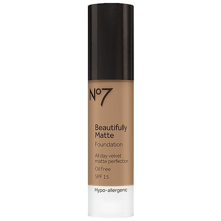 No7 Beautifully Matte Foundation - 1 oz.