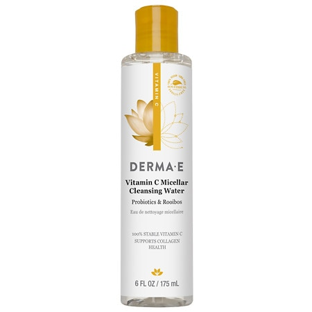 Derma E Vitamin C Micellar Cleansing Water Natural Fragrance Oils - 6.0 oz