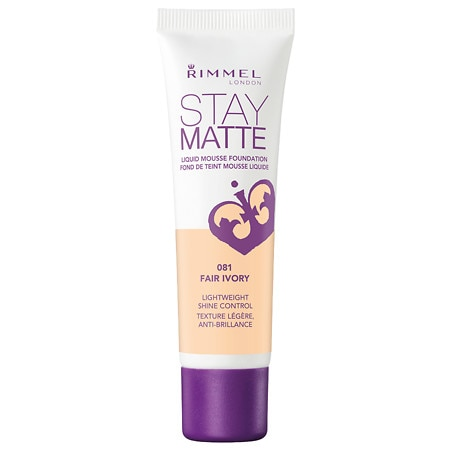 Rimmel Stay Matte Liquid Mousse Foundation - 1 oz.