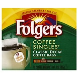 Folgers Coffee Singles Classic Decaf