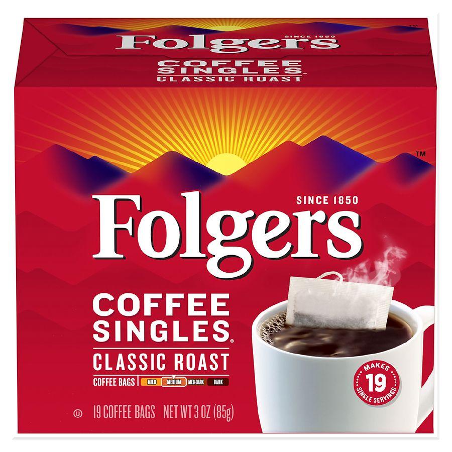 Folgers Coffee Singles Classic Roast