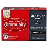 Community Coffee Signature Blend Dark Roast Coffee Pods