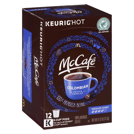 McCafe Colombian Coffee K-Cup Pods - 0.34 oz x 12 pack