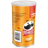 Pringles Grab And Go Potato Crisps Cheddar Cheese