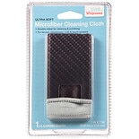 Walgreens Double-Sided Cleaning Cloth Black