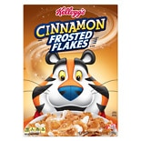 Frosted Flakes Cereal Cinnamon