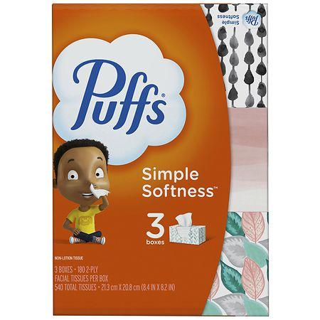 Puffs Basic Facial Tissue 180 Sh