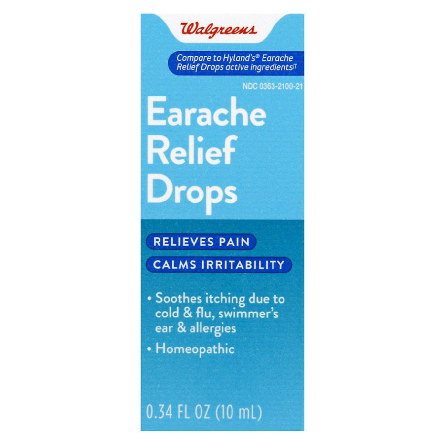 More Than 120 Homeopaths Trying To Cure >> Walgreens Homeopathic Earache Drops Walgreens