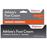 Walgreens Clotrimazole 1% Athlete's Foot Cream