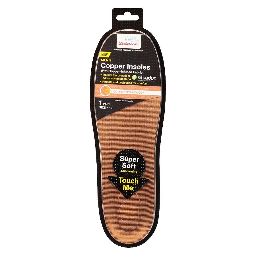 10ac3989bb Walgreens Copper Insoles Size 7-13 | Walgreens