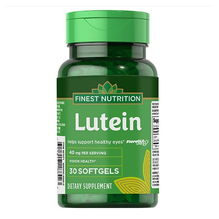 Finest Nutrition Lutein 40 mg Softgels - 30 ea