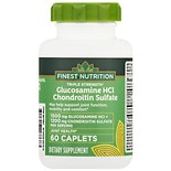 Finest Nutrition Glucosamine Chondroitin Caplets Triple Strength