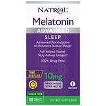 Natrol Advanced Sleep Melatonin 10 mg Tablets Time Released