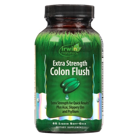 Irwin Naturals Colon Flush Softgels Extra Strength - 60 ea