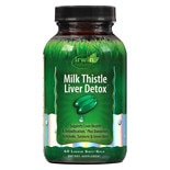Irwin Naturals Milk Thistle Liver Detox Liquid Softgels