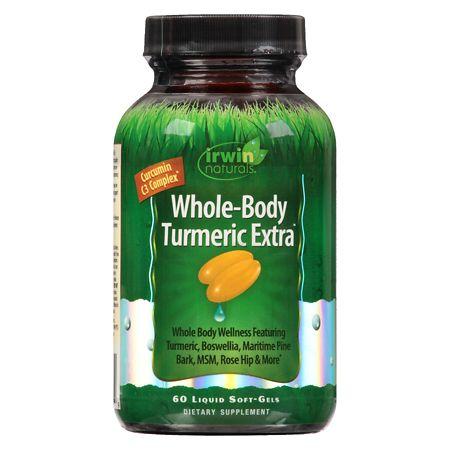 Irwin Naturals Whole-Body Turmeric Extra Liquid Softgels - 60 ea