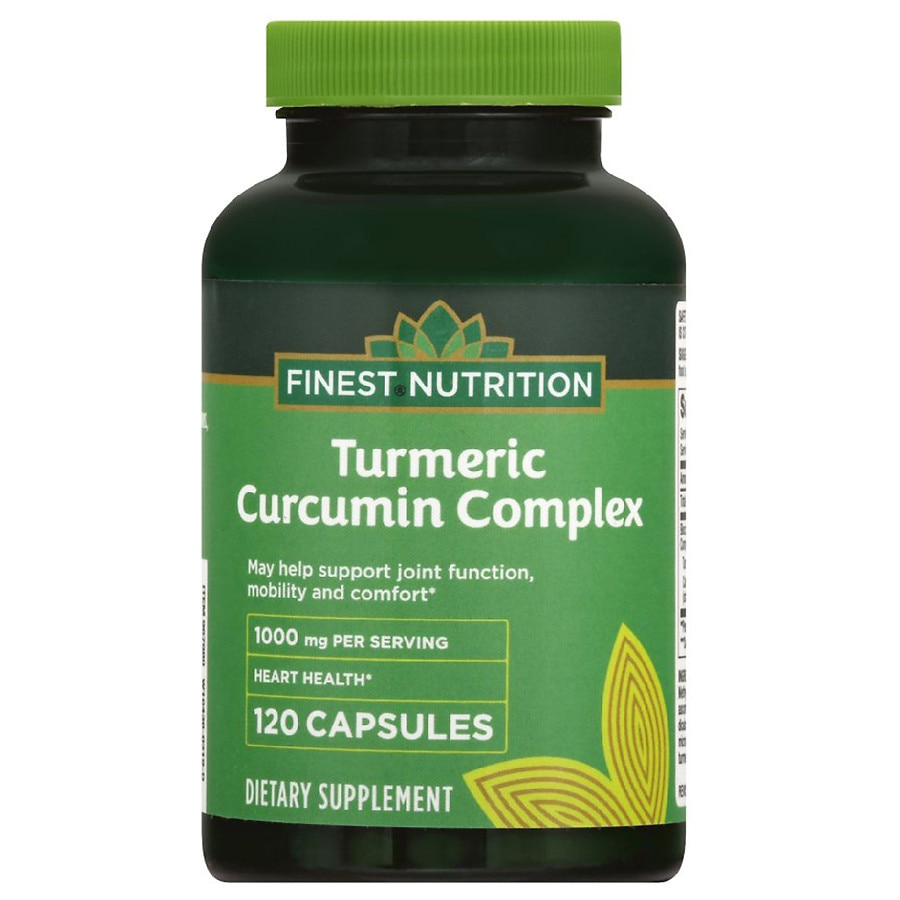 Finest nutrition turmeric