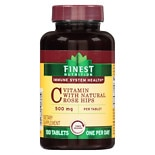 Finest Nutrition Vitamin C 500 mg With Natural Rose Hips Tablets