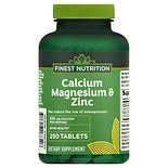 Finest Nutrition Calcium Magnesium Zinc Tablets