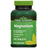 Finest Nutrition Magnesium 250 mg Tablets
