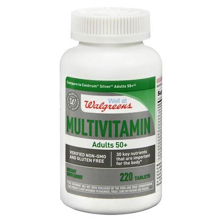 Walgreens Adult 50  Multivitamin - 220 ea