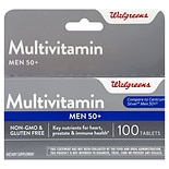 Walgreens Men's 50+ Multivitamin