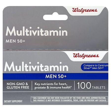 Walgreens Men's 50  Multivitamin - 100 ea