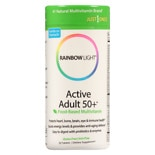 Rainbow Light Active Adult 50+ Multivitamin Tablets