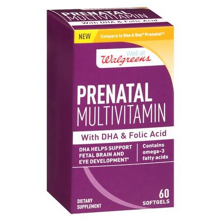 Walgreens Women's Prenatal Supplement - 60 ea
