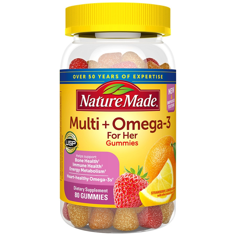 Nature Made Gummies For Her With Omega