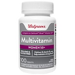 Walgreens Multi Vitamin Women 50+