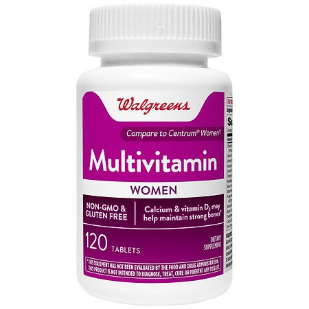 Walgreens Women's Multivitamin Tablets - 120 ea