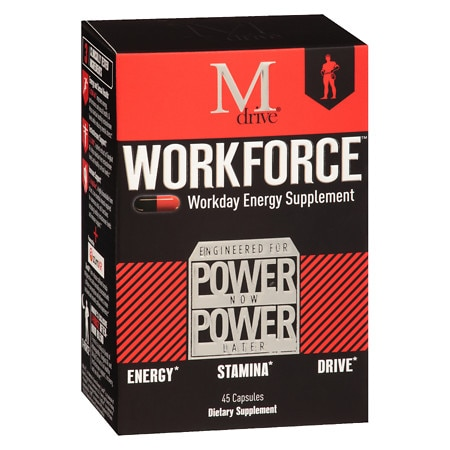 Mdrive Workforce Energy Supplement - 45 ea