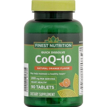 Finest Nutrition CoQ10 200 mg Quick Dissolve - 90 ea