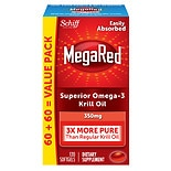 Schiff MegaRed heart health supplements