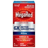 Schiff MegaRed Triple Absorption 800 mg Softgels