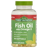 Finest Nutrition Fish Oil 1200 mg Softgels
