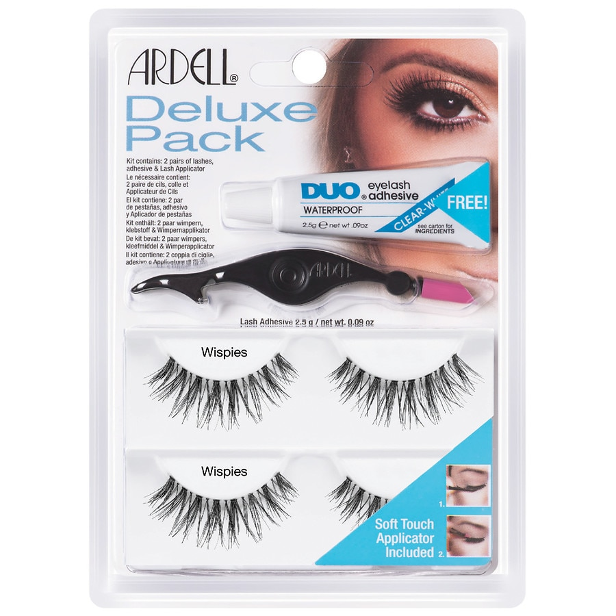 bd825f79573 Ardell Deluxe Pack Wispies With Applicators | Walgreens