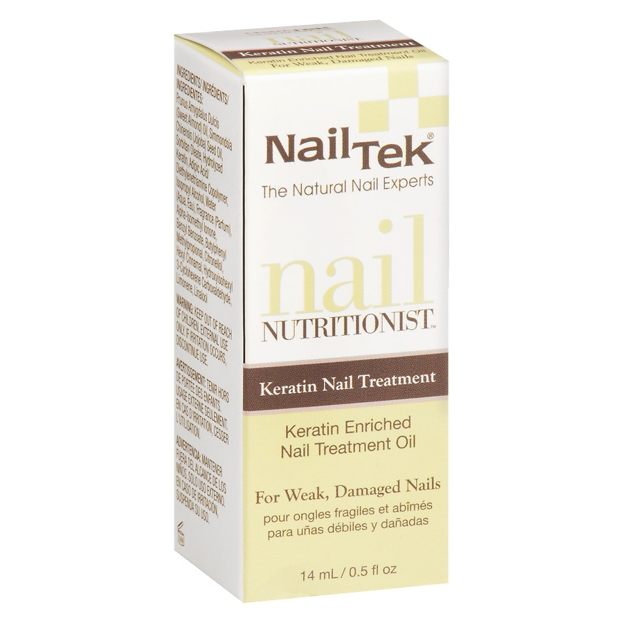 Nail Tek Nutritionist Keratin Enriched Treatment Oil | Walgreens