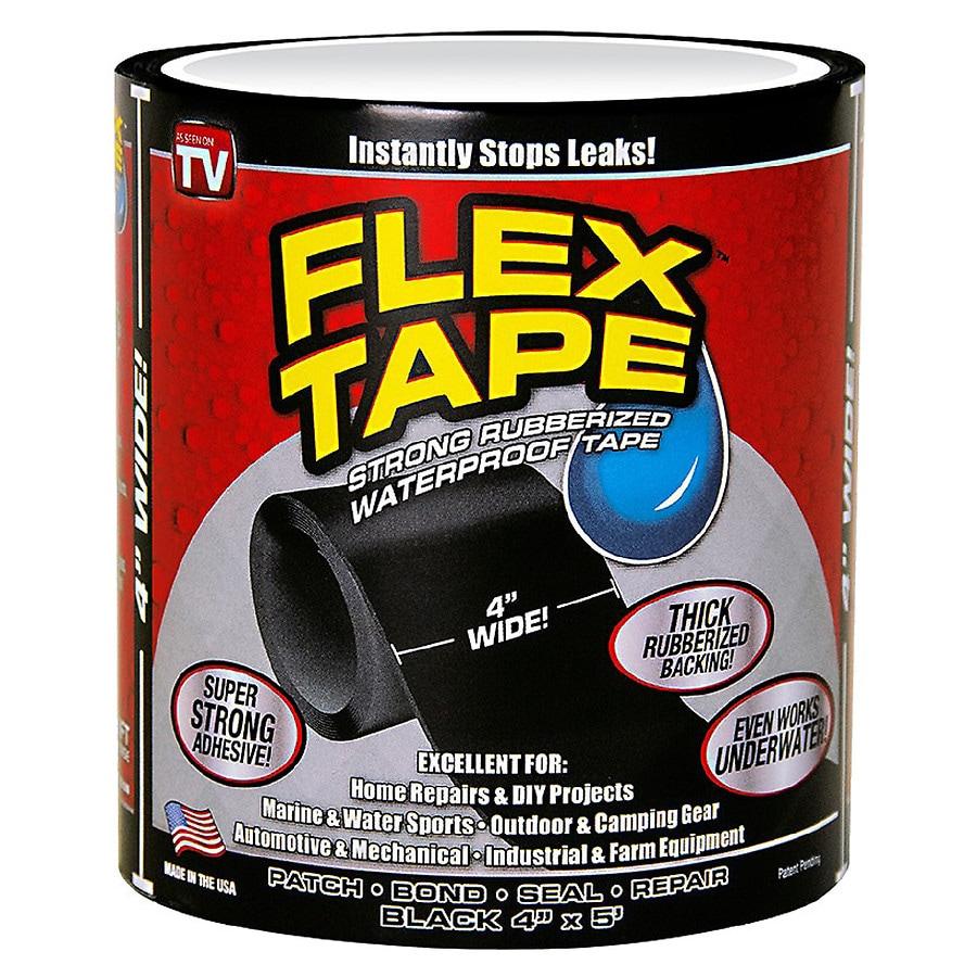 Flex Tape Strong Rubberized Waterproof Tape Black Walgreens