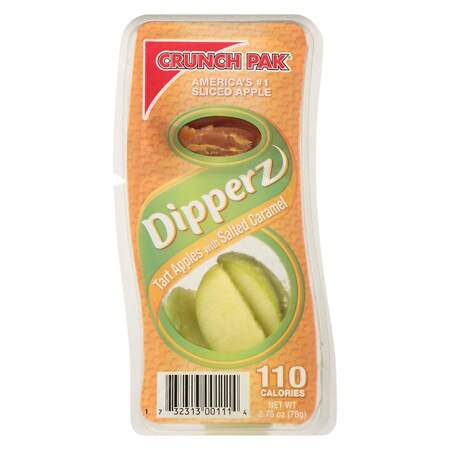 Crunch Pak Caramel Dip Tart Apple Snackers - 2.75 oz.