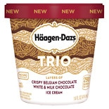 Haagen-Dazs Trio Ice Cream Triple Chocolate