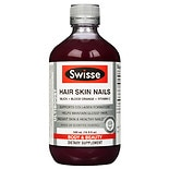 Swisse Hair Skin & Nails Liquid Supplement Blood Orange