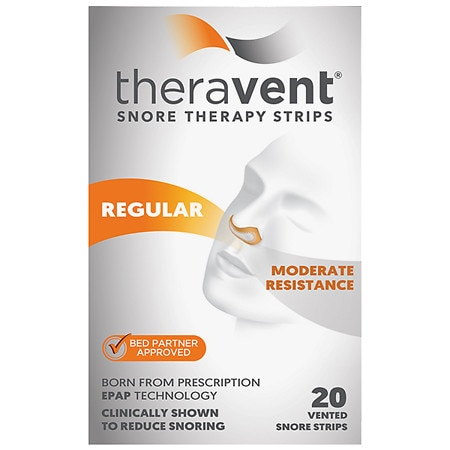 Theravent Snore Therapy Strips - 20 ea