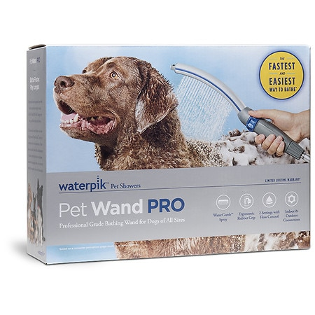 Waterpik Pet Wand PRO Dog Shower Attachment for Indoor-Outdoor Use, PPR-252E - 1 ea