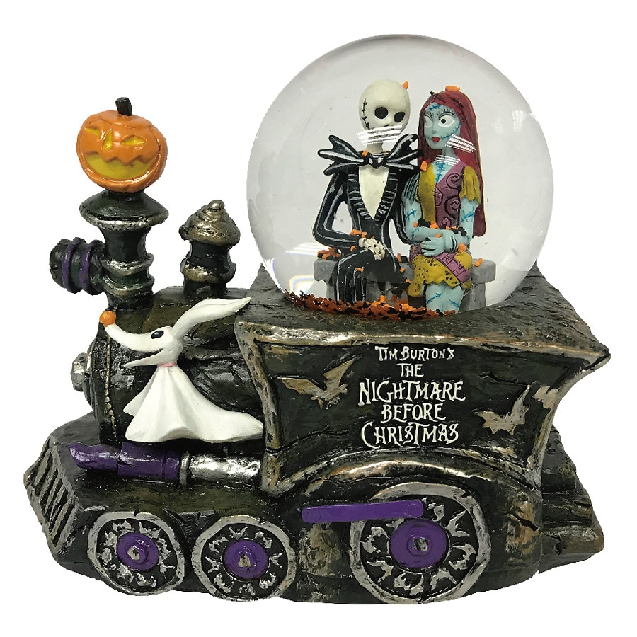 Disney Nightmare Before Christmas Musical Light Up Waterglobe ...