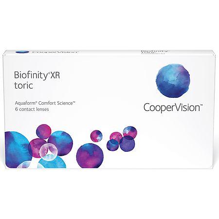 Biofinity XR Toric Biofinity XR Toric - 1 Box