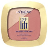 L'Oreal Paris Visible Lift Radiance Cheek Duo 201 Romantic in Rose