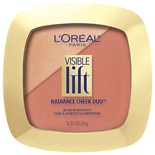 L'Oreal Paris Visible Lift Radiance Cheek Duo 203 Blushing in Bronze